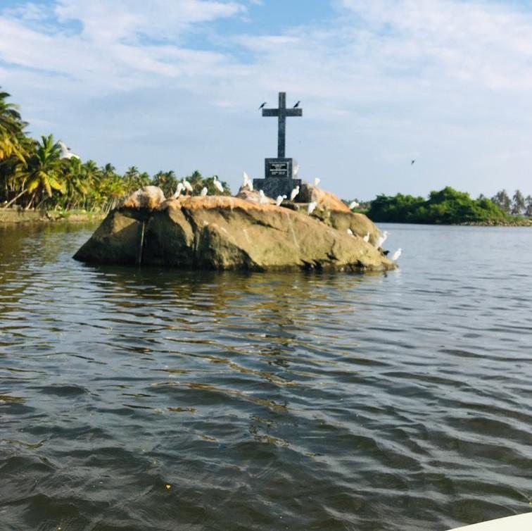 backwater stone